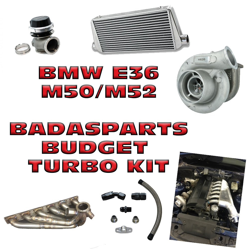 Badassparts - Kit Turbo Street Budget - BMW E36 M50/M52