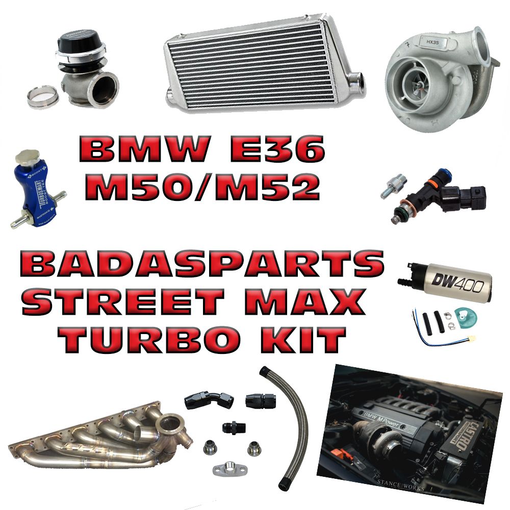 Badassparts - Kit Turbo Street Max - BMW E36 M50/M52