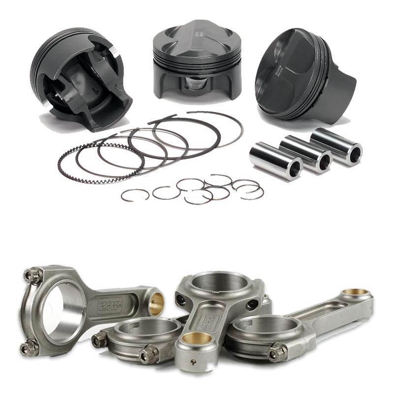 Badassparts - Pack Pistons Forgés / Bielles en H - CA18DET