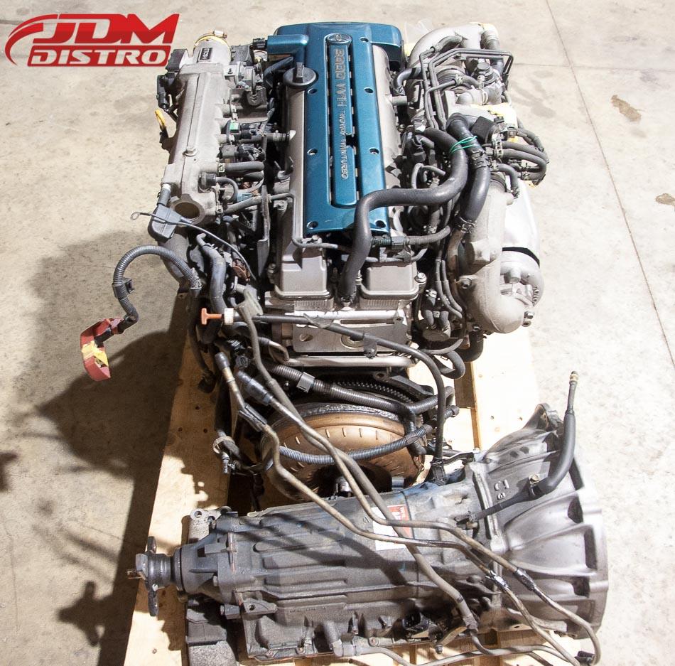Occasion - Moteur 2JZ Toyota Supra / Aristo avec Boite Auto